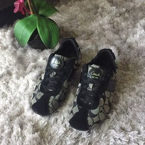 Coach sneakers black and gray